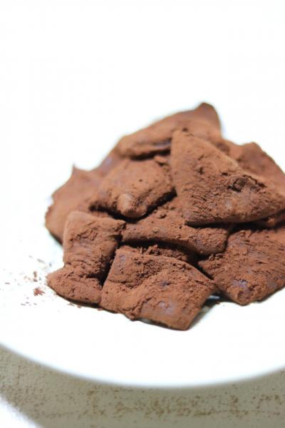 レンジで簡単♪チョコ餅