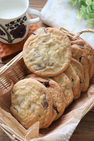フリーザーバッグ一つで!アメリカンチョコチップクッキー