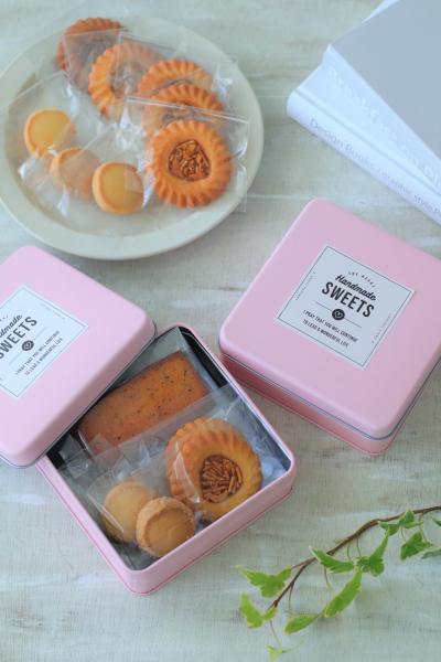 缶のラッピング(焼き菓子6~10個入)