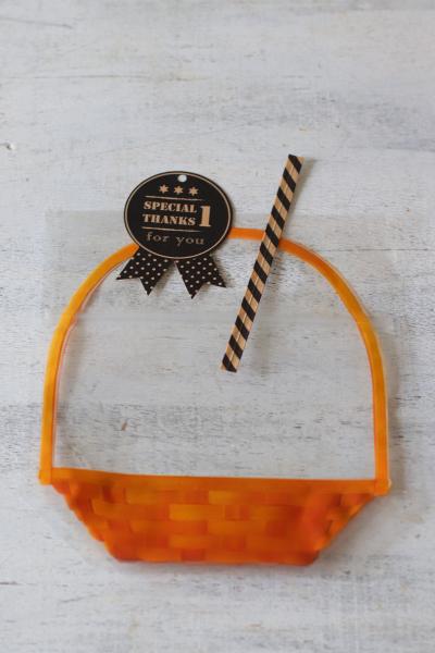 ジッパーバッグを使ったラッピング(焼き菓子2~3個入)
