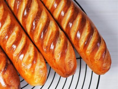 ヴィエノワ(ウィーン風フランスパン)