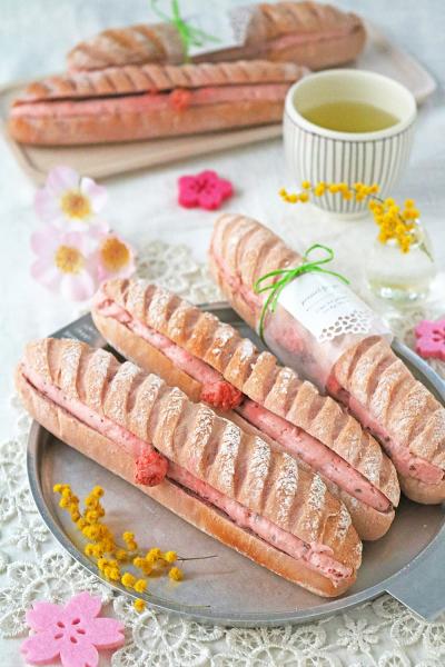 桜ソフトミルクフランス