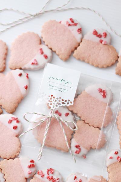 透明袋でかわいいクッキーラッピング