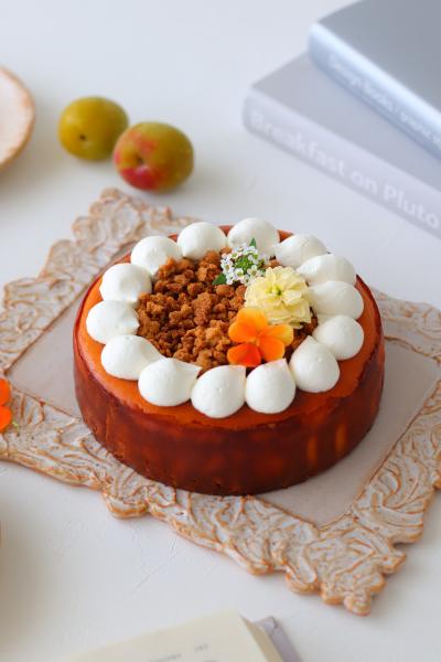 クランブル チーズ ケーキ