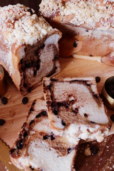 カフェモカ食パン