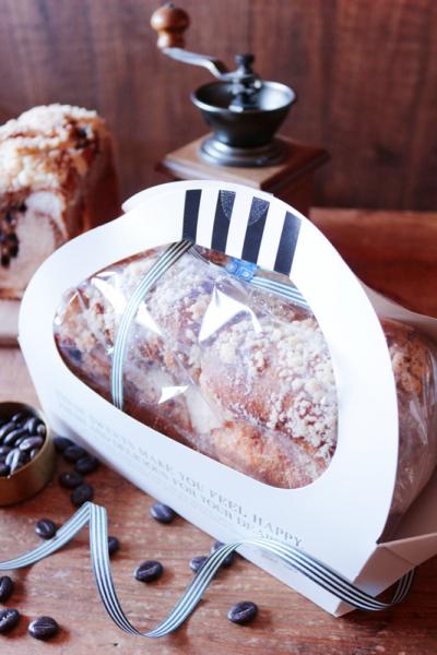カフェモカ食パンのラッピング