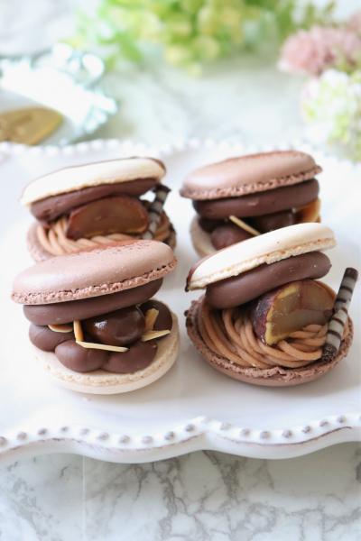 チョコレートトゥンカロン・モンブラントゥンカロン