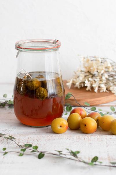 花見糖の梅シロップ