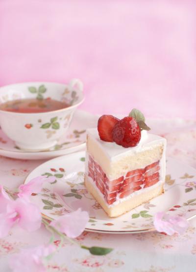 タルギケーキ風苺のショートケーキ