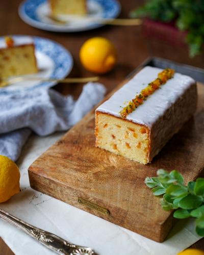 グルテンフリー、バター不使用のウィークエンドシトロン