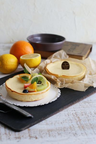 ぐるぐる混ぜるだけの簡単チーズケーキ★IFトレー2個分
