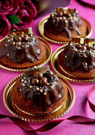 <ミニクグロフ型使用>カフェリーヌ香るバターチョコケーキ
