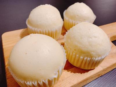 【30分で完成】鍋で作る簡単ふわふわ蒸しパン