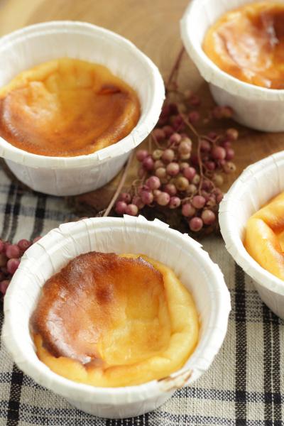 メープル風味のバスクチーズケーキ