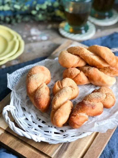 ふわっともっちり濃厚豆乳きな粉ドーナツ