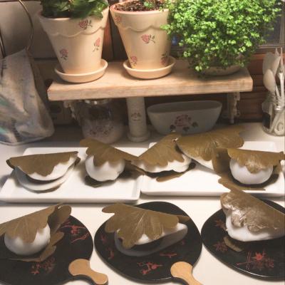 レンジで作る!簡単あんこと柏の葉使い切りの3種の柏餅