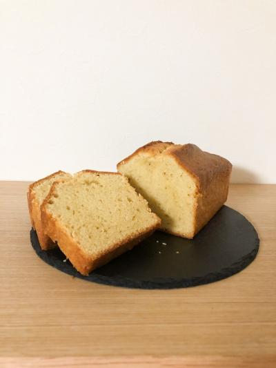 しっとりふわふわパウンドケーキ