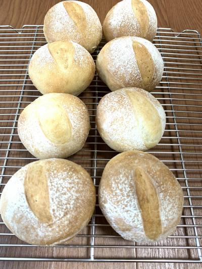 オレンジ酵母のまん丸パン