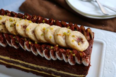 チョコバナナパウンドケーキ♪