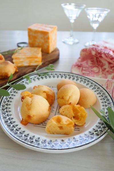 コルビージャックチーズの<br>ポンデケージョ</br>