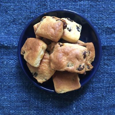 【レーズン2020】カリフォルニアレーズン&クリームチーズのソフトクッキー
