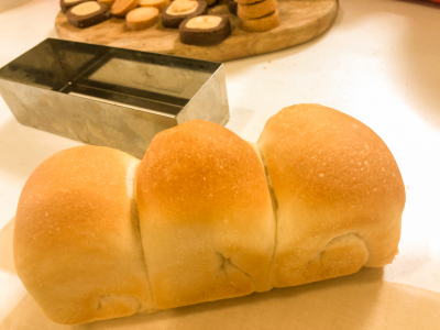 小さなミニ食パン