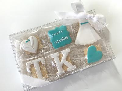 Wedding Icing Cookies ラッピング♡