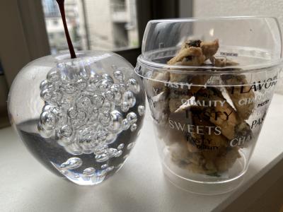 クッキーinカップのラッピング