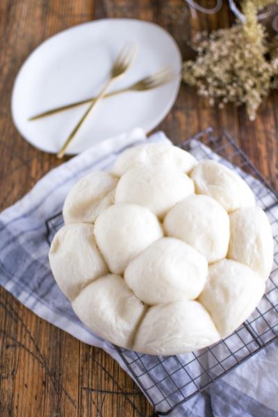 炊飯器で真っ白ちぎりパン