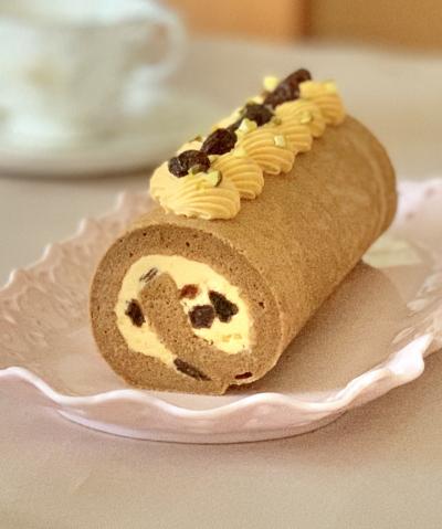 大人のロールケーキ*ラムレーズン&キャラメルモカ