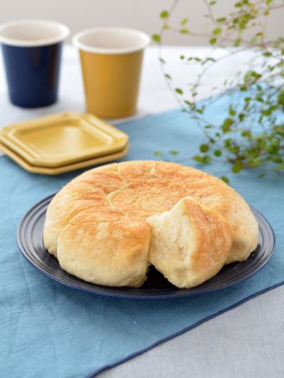 炊飯器でふわふわ塩レモンバターパン