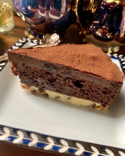 レーズンぎっしりチョコケーキ