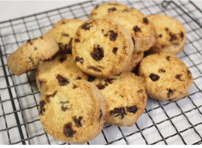 【レーズン2020】ほんのりラム酒香るレーズンとココナッツのさくさくディアマンクッキー