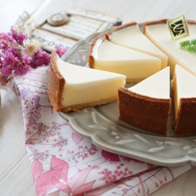 サワークリームさっぱり!とろける♪2層のチーズタルト