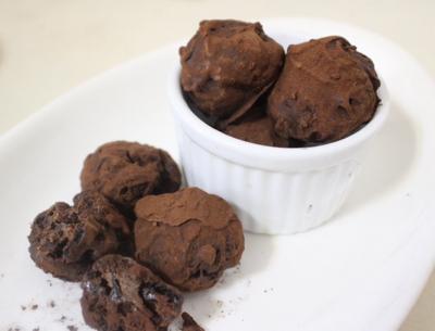 ほんのりラムレーズンのチョコクッキー