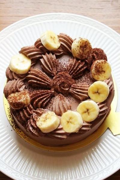 バナナ 作り方 チョコ