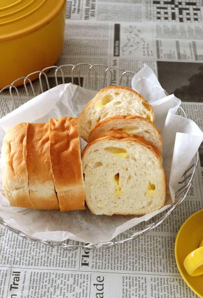 チーズのミニ食パン♪
