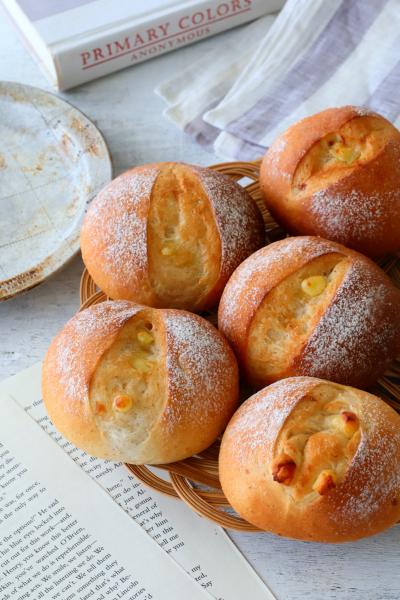 香ばし全粒粉のチーズパン