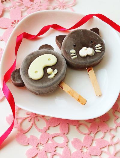 チョコマシュマロアイスキャンディー♡