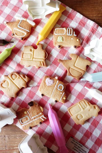 練ってもOK!発酵バターのさっくりクッキー