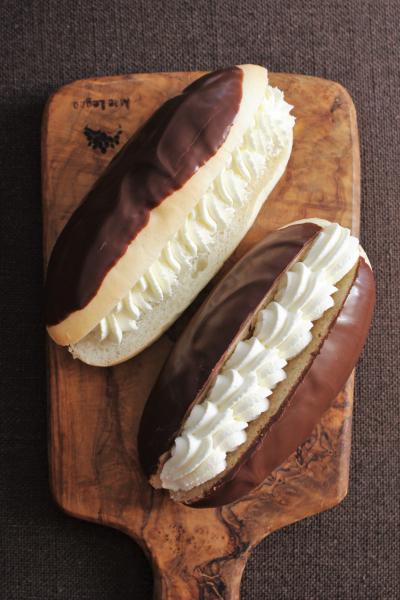 チョコと生クリームのパン