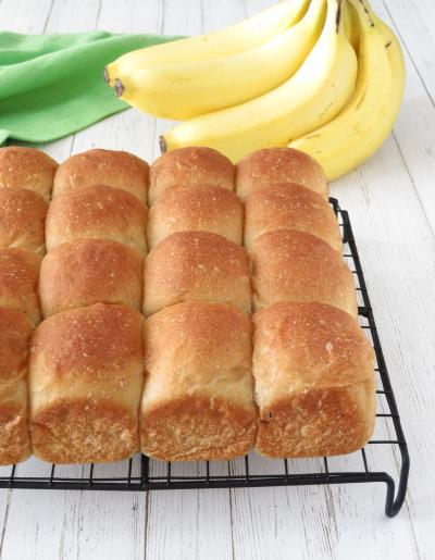 バナナのちぎりパン