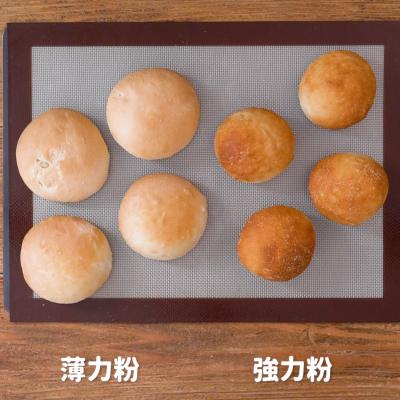 薄力粉でパンは作れる? 薄力粉・強力粉で焼き比べ