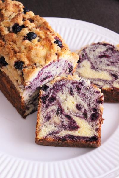 ブルーベリーのパウンドケーキ