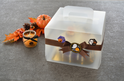 デコレーションケーキラッピング☆ハロウィン