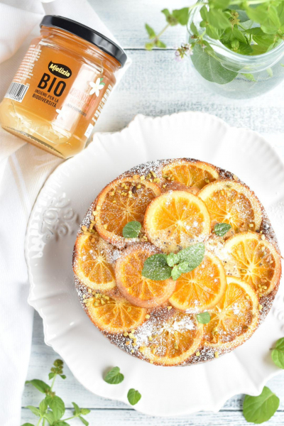 オレンジアールグレイケーキ
