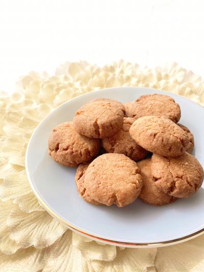【HM2020】バター不使用!材料3つ!HMで超簡単♡さくさくクッキー