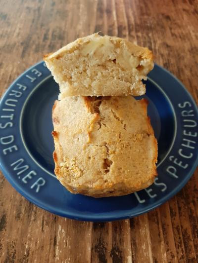 バナナのパウンドケーキ 小麦粉、バター、卵、乳製品不使用!