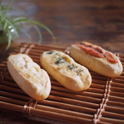 ソフトフランスパン(プレーン・ガーリックバター・明太子)