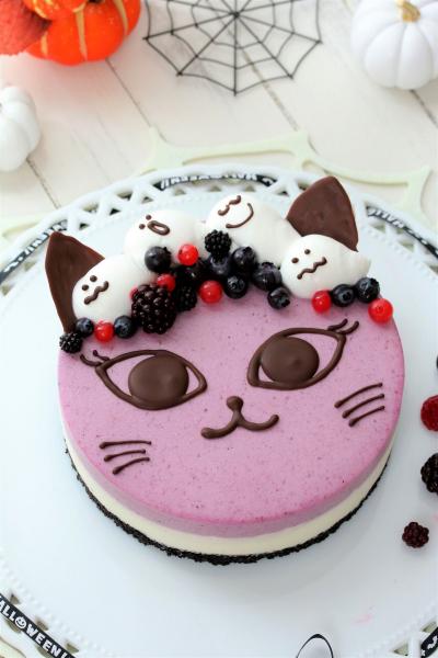 ミックスベリーのチョコレートチーズケーキ